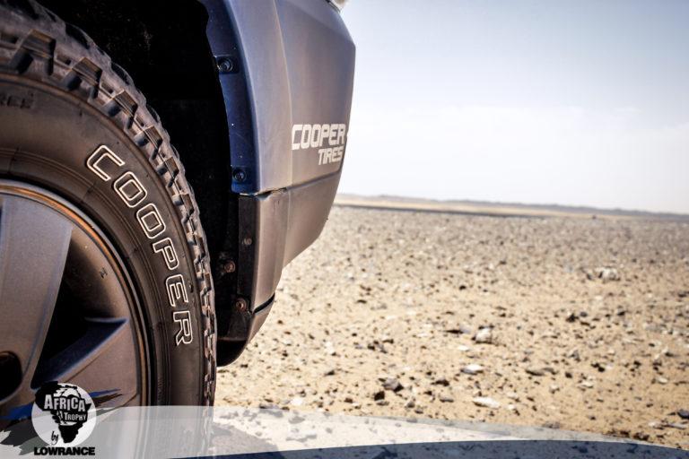 Cooper Tires, neumático oficial del África Trophy