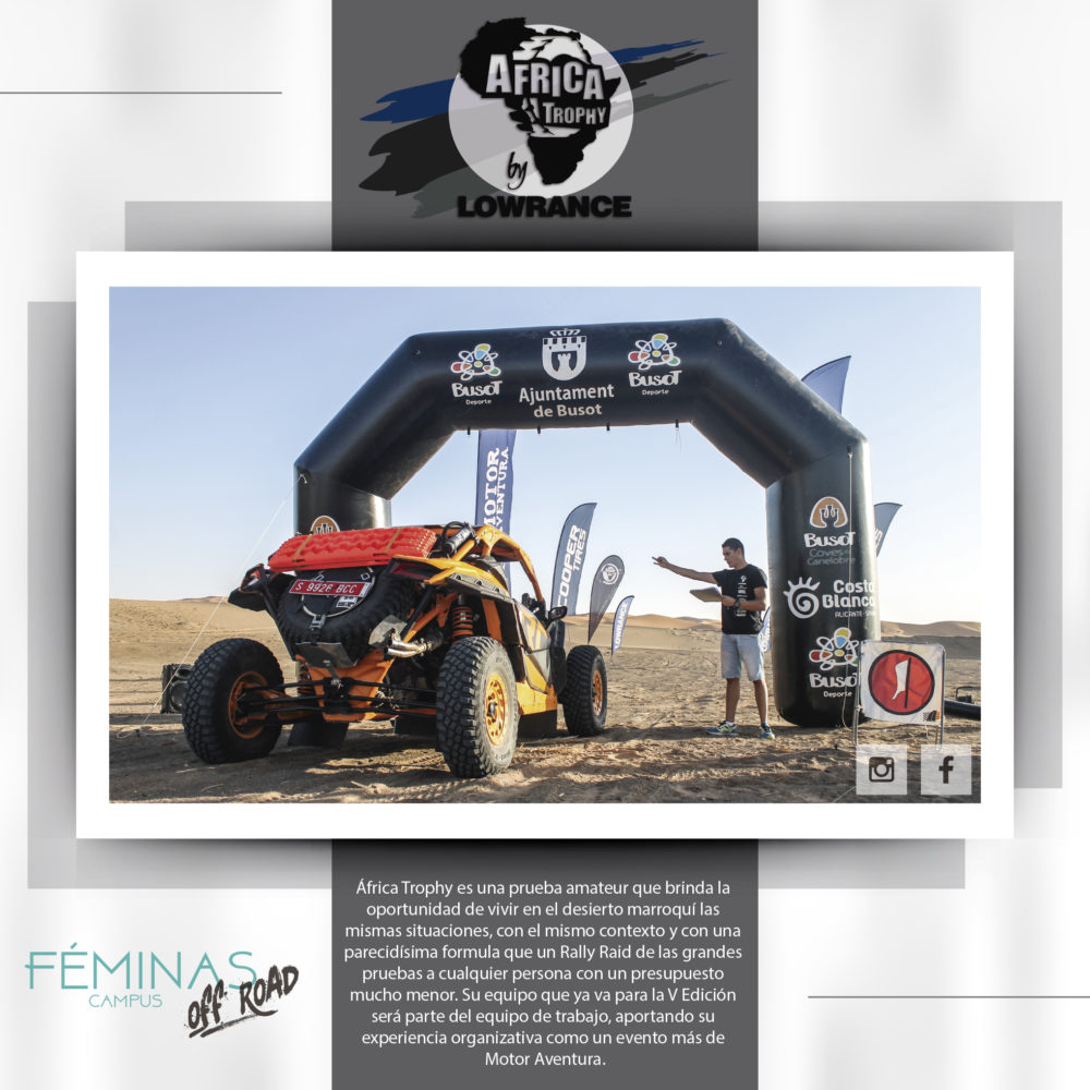ÁFRICA TROPHY EN EL CAMPUS FÉMINAS OFF ROAD